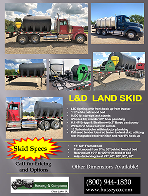 L&D Land Skid Flyer